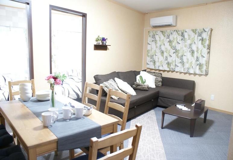 日式待客兔子之家 2 樓 (15-6) 飯店, 大阪, 公寓, 客廳
