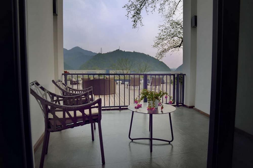 Exclusive-Zweibettzimmer, Blick auf den Innenhof - Balkon