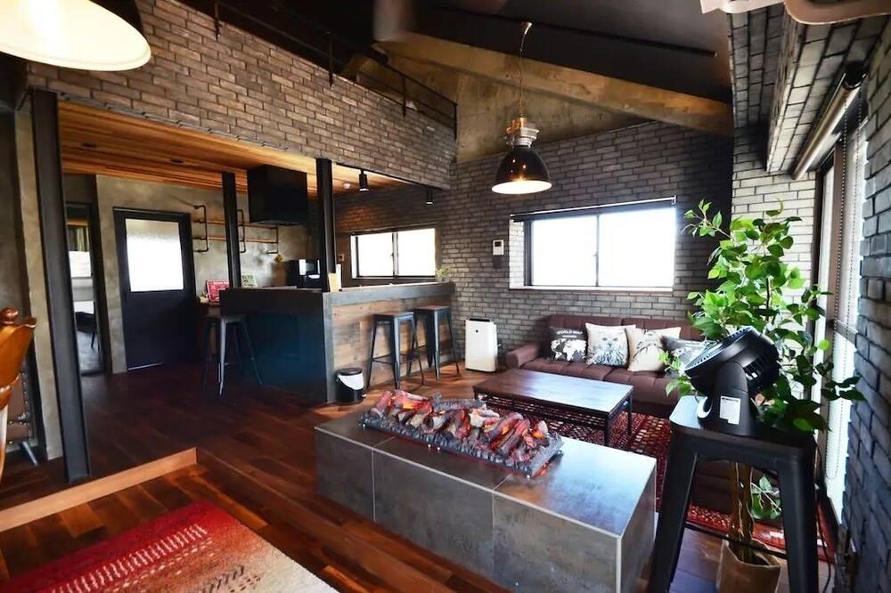 公寓, 非吸煙房 (with loft, 701) - 客廳