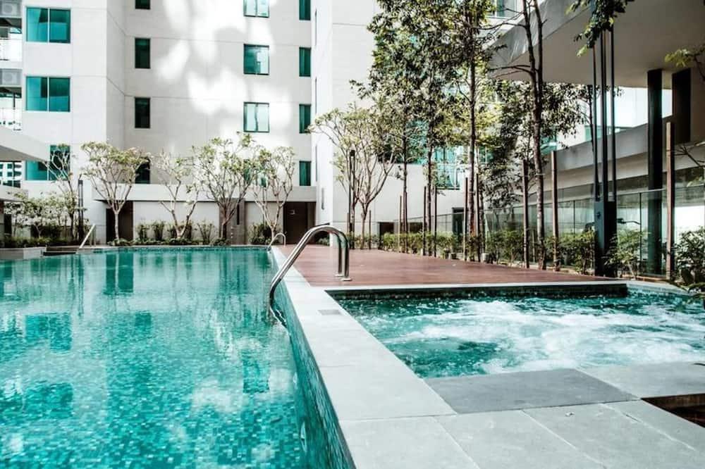 都會公寓, 城市景, 高層 - 泳池