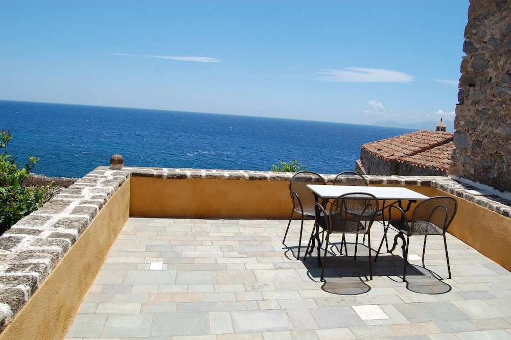 Suite junior, 2 habitaciones, balcón, vista al mar - Balcón