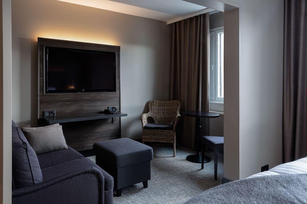 Studiosvit Junior - 1 kingsize-säng - Vardagsrum