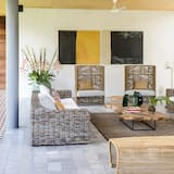 Villa, četras guļamistabas - Dzīvojamā zona