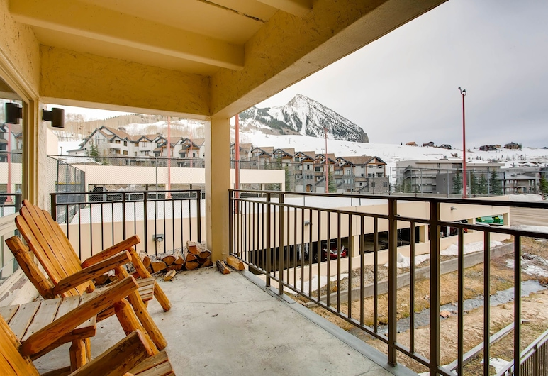 Plaza 3Pk PZ132 - 2 Br Condo, Crested Butte, Διαμέρισμα (Condo), 3 Υπνοδωμάτια, Μπαλκόνι