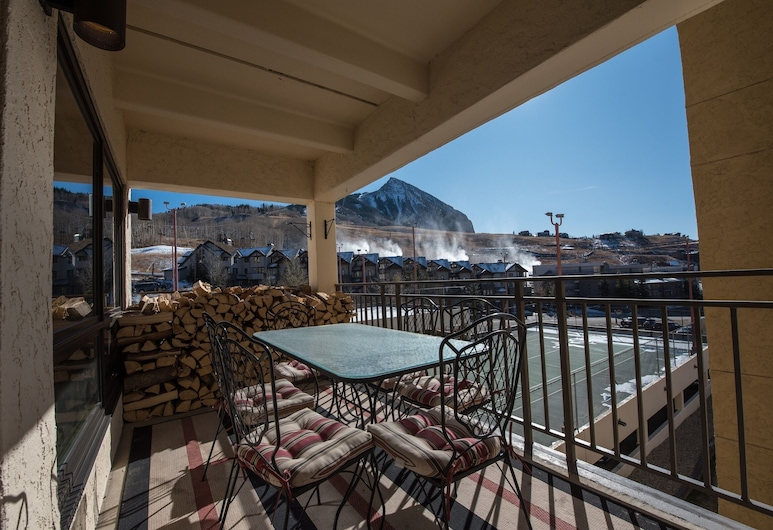 Plaza 3Pk PZ331 - 2 Br Condo, Crested Butte, Διαμέρισμα (Condo), 2 Υπνοδωμάτια, Μπαλκόνι