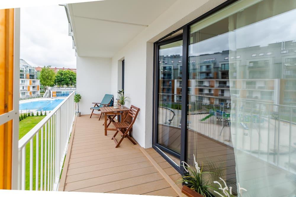 Apartment, Multiple Beds, Non Smoking (Turkus) - Balcony