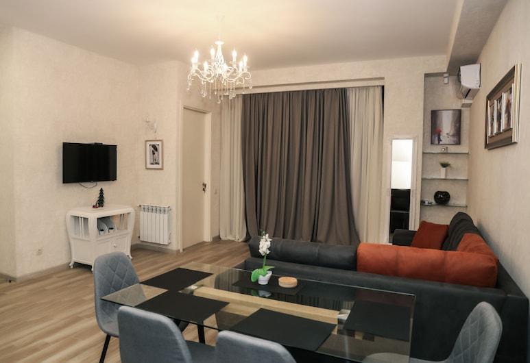 Hosthub Apartment On Shatberashvili Str, Tbilisi, Apartmán, 1 spálňa, Obývacie priestory