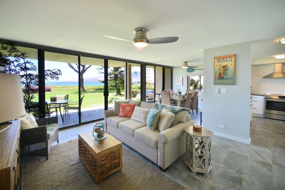 Condo, Multiple Beds, Patio, Ocean View - Living Room