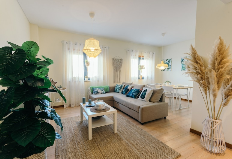 Best Houses 24 - New & Stunning Apartment, Peniche, Lägenhet - 4 sovrum, Vardagsrum