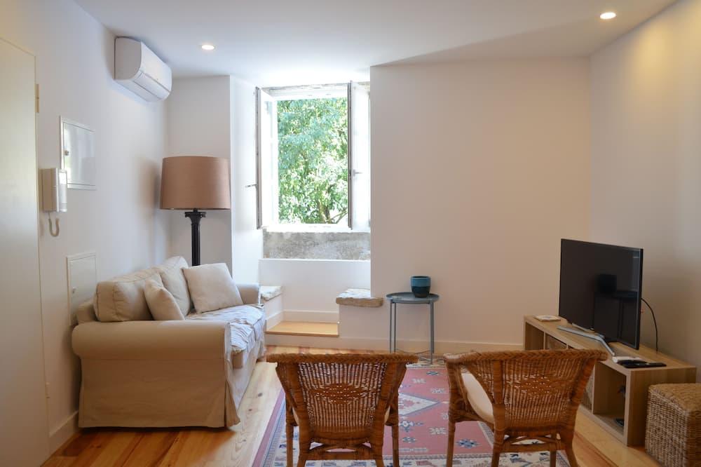 Apartamentai, 2 miegamieji, 2 miegamieji - Svetainė