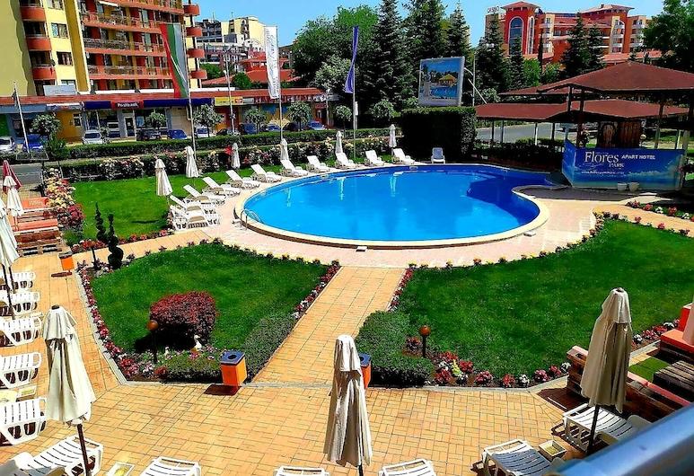 Apart-Hotel Flores Park, Sunny Beach, Outdoor Pool