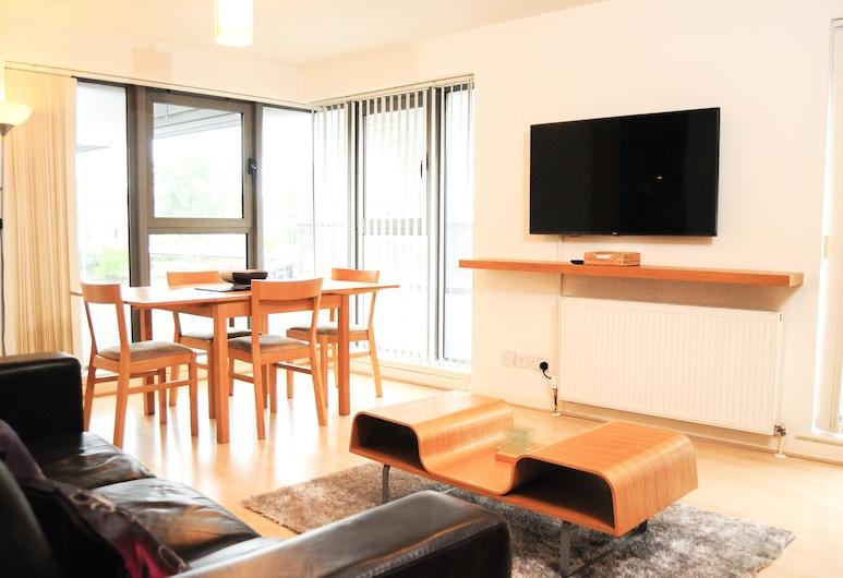 City Center Lux Apartment, Glasgow, Appartamento Standard, 2 camere da letto, Area soggiorno