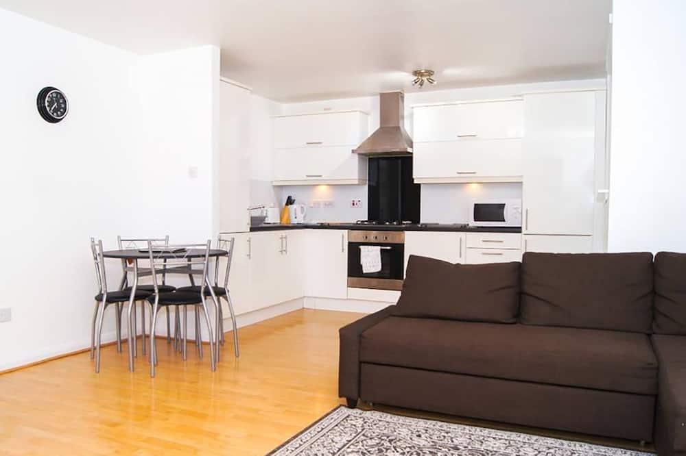 아파트, 침실 2개 - 거실