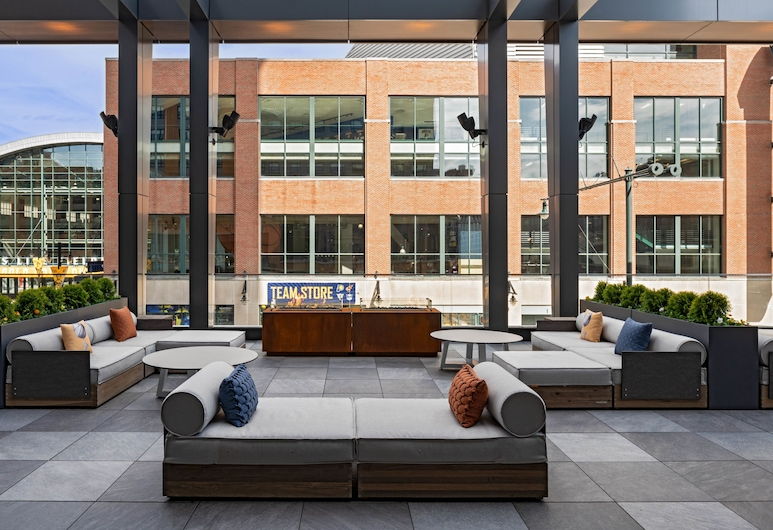 Hyatt House Indianapolis Downtown, Indianapolis, Terrazza/Patio
