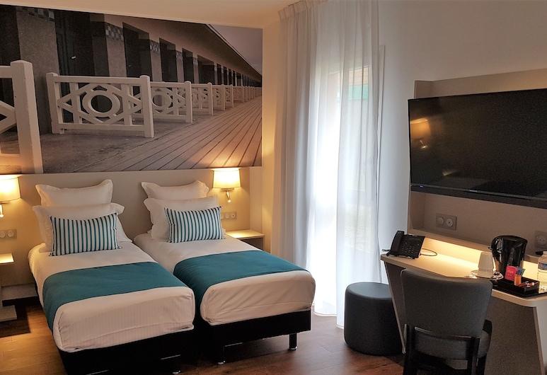 The Originals City, Hôtel Acadine, Pont-Audemer, Понт-Одмер, Сімейний номер, багатомісний номер, для некурців, Номер