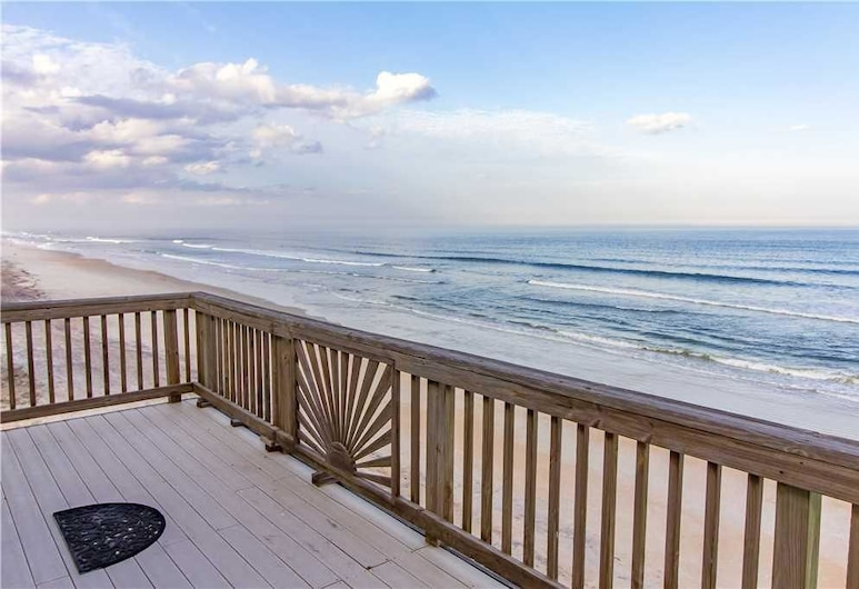 Sun And Surf - Four Bedroom Home, St. Augustine, House, 4 Bedrooms, Balcony, Beach View (Oceanfront), Terrace/Patio