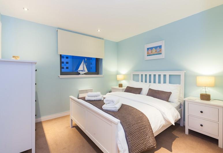 Modern Two Bedroom Apartment, Edinburgh, Luxe appartement, Meerdere bedden, niet-roken, Uitzicht op de stad, Kamer