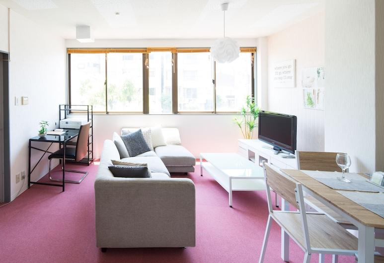 Elegant Pink, 大阪市, 1 ベッドルーム アパートメント, 部屋