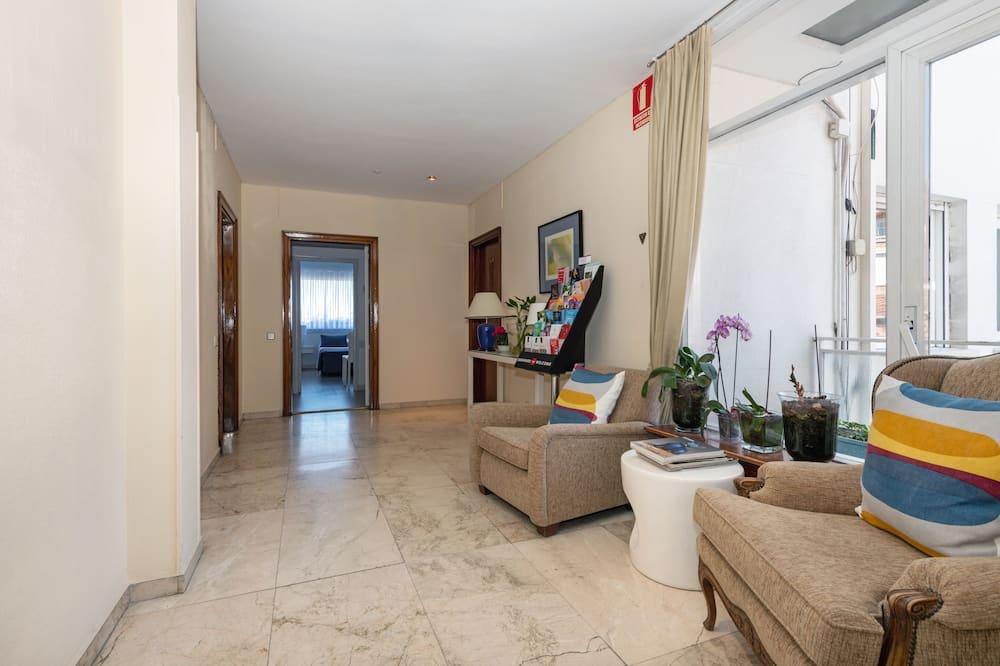 شقة - غرفة نوم واحدة (603) - منطقة المعيشة