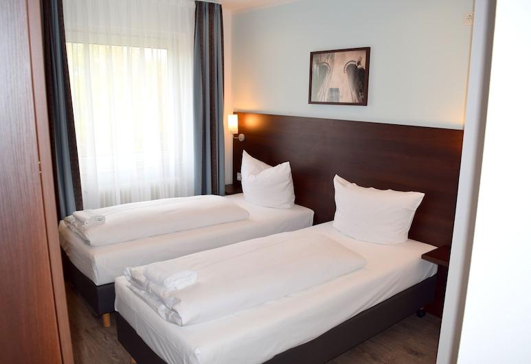 梅塞經濟旅遊旅館, 法蘭克福, 標準單人房, 客房