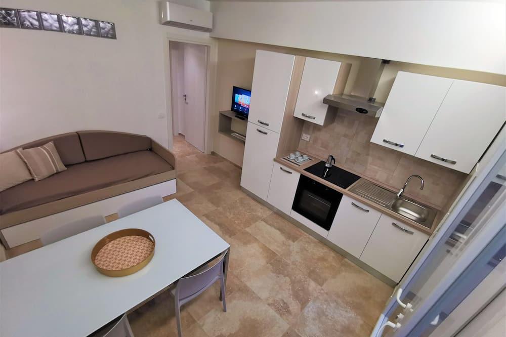 Апартаменти, 1 спальня, обладнано для інвалідів, перший поверх - Вітальня