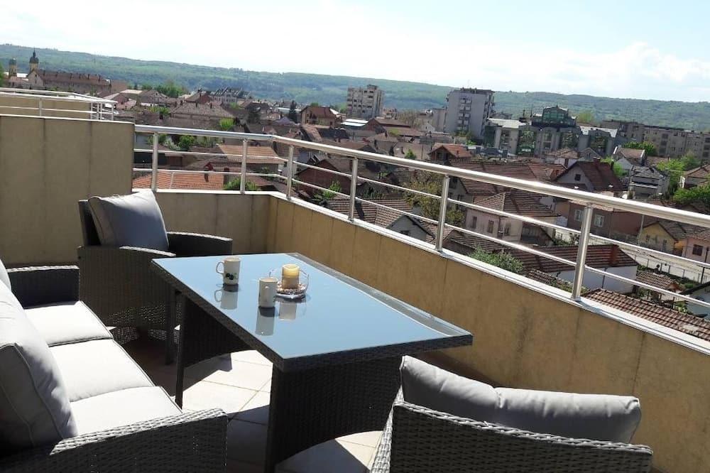 Comfort Apartment, Terrace, Beach View - Balcony