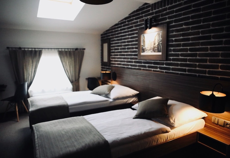 Penzion U Kubesa, Kromeriz, Liukso klasės dvivietis kambarys, 2 viengulės lovos, Svečių kambarys