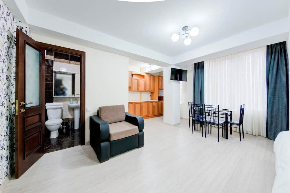 Habitación doble, 1 cama doble, vista a la ciudad - Habitación