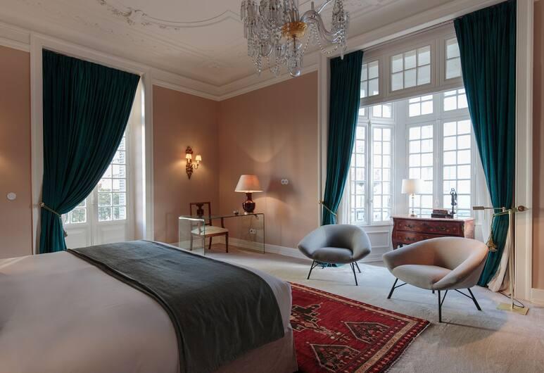 Dear Lisbon - Valmor Palace, Lissabon, Deluxe-Suite, Balkon, Zimmer