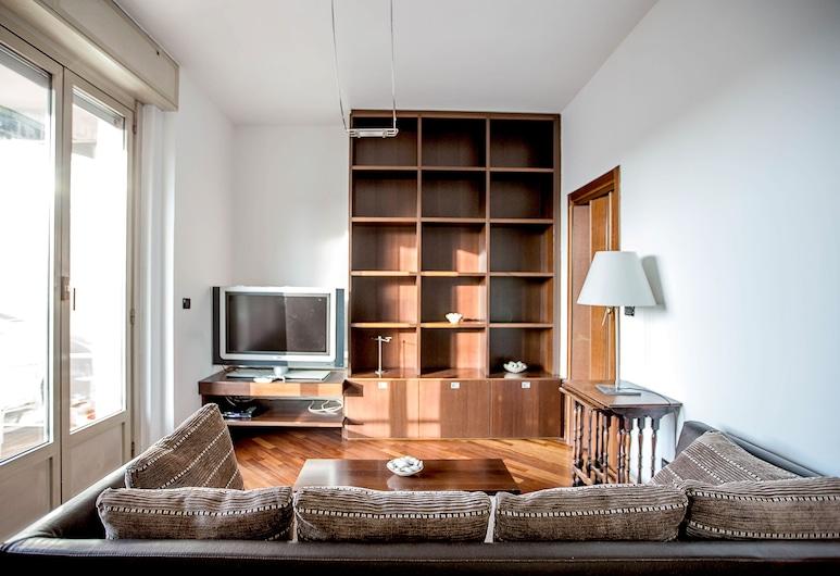 Gattamelata, Milaan, Appartement, 1 slaapkamer, Woonruimte