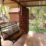Honeymoon-Ferienhaus, 1King-Bett, Raucher, Gartenblick - Balkon