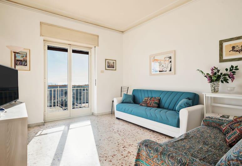 Monastero dei Benedettini View Apartment, Catania, Külaliskorter, 2 magamistoaga, Lõõgastumisala