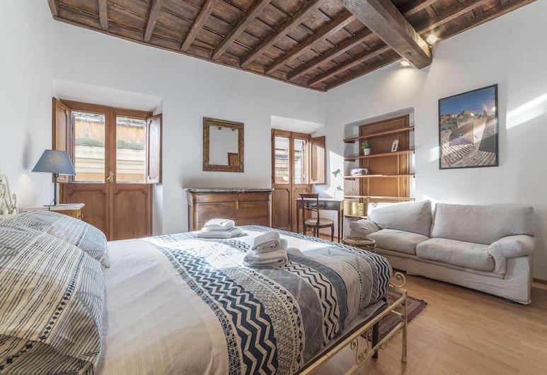 Montecitorio & Pantheon Stylish Flat, Rome, Apartment, 1 Bedroom, Room