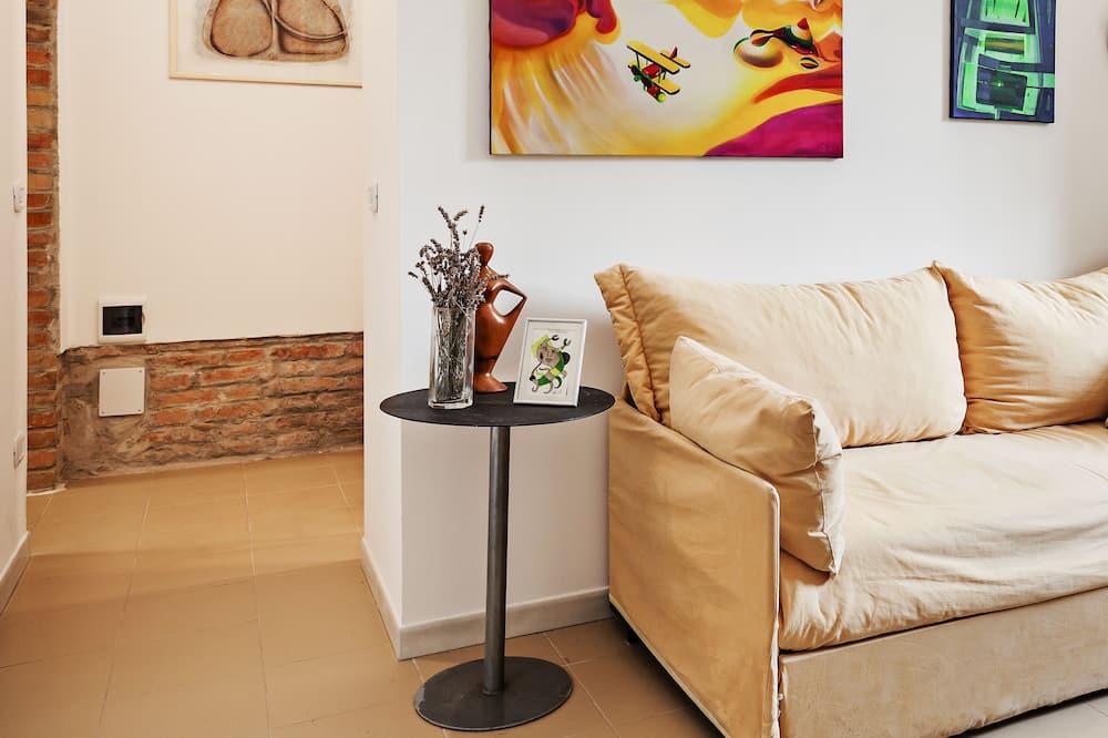 Departamento, 1 habitación, para no fumadores - Sala de estar