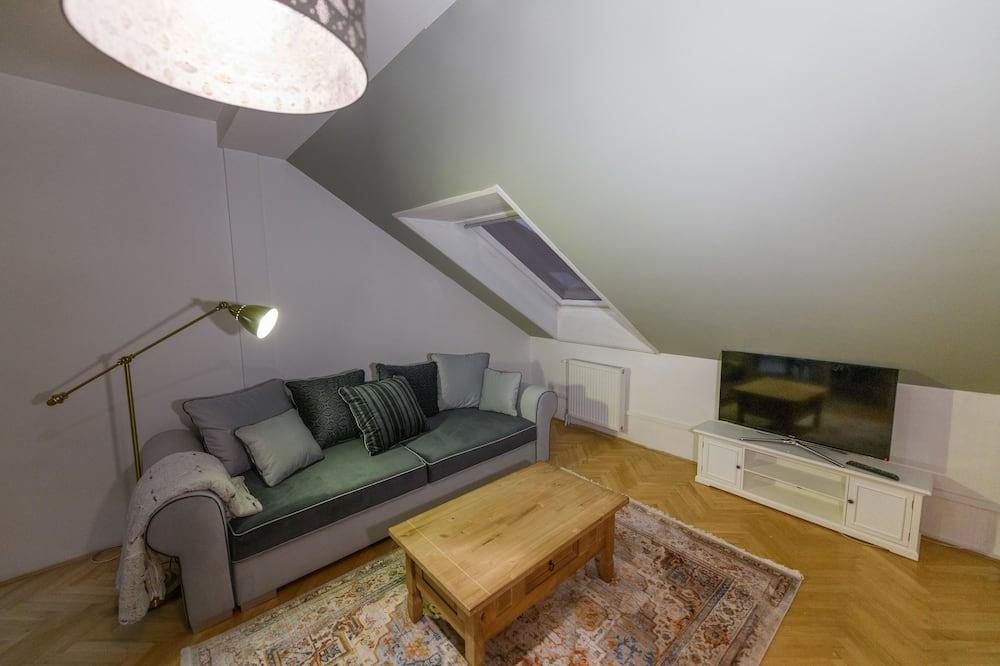 Departamento Deluxe - Sala de estar