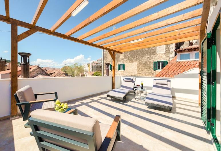 Le Premier Rooms, Split, Terrasse/Patio