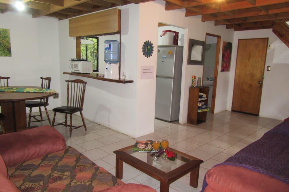 Maison Familiale, 3 chambres, 2 salles de bains, vue vallée - Salle de séjour