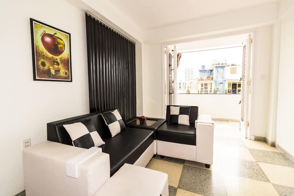 패밀리 아파트, 침대(여러 개), 금연 - 거실
