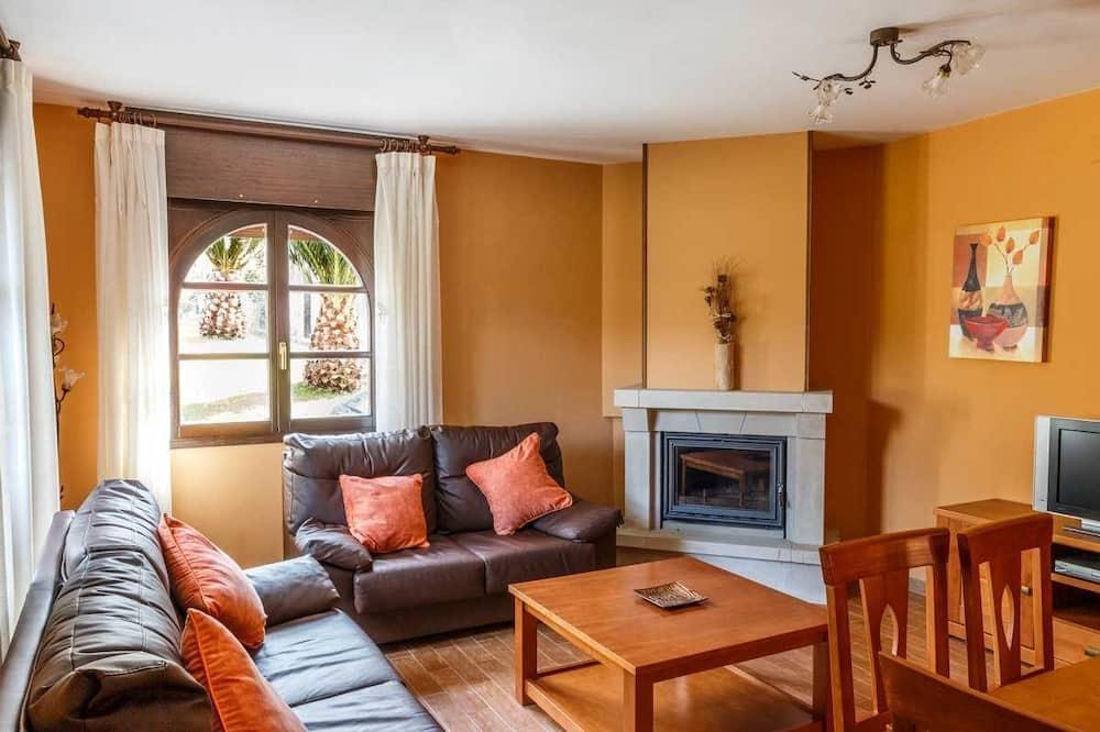 Házikó, 3 hálószobával, kilátással a hegyre (Verde) - Nappali rész