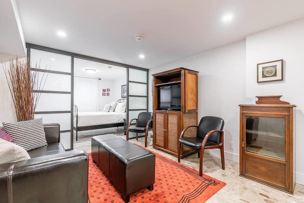 Apartmán typu Basic, 1 veľké dvojlôžko, nefajčiarska izba - Obývacie priestory