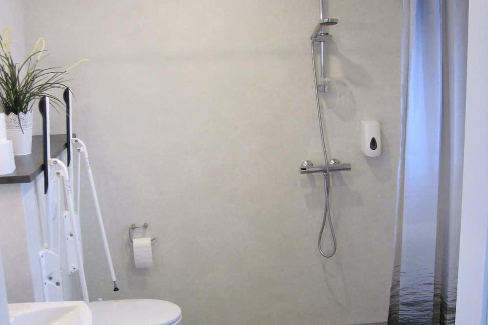 Studio, barrierefrei, Bergblick - Badezimmer
