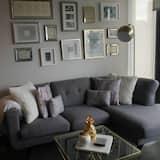 Basic apartman, 1 queen (nagyméretű) franciaágy, nemdohányzó - Kiemelt kép