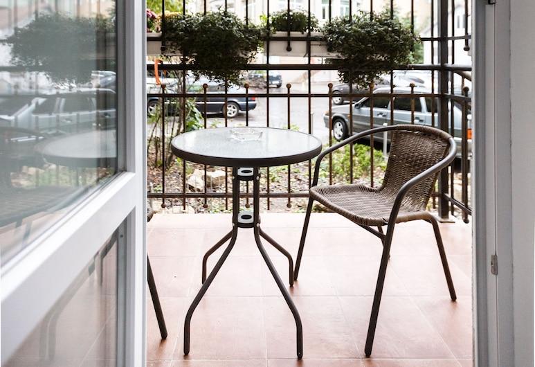 Antares Apart Hotel, Lviv, Classic Stüdyo, Balkon