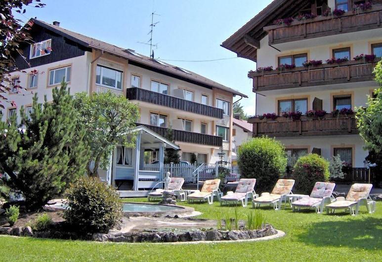 Hotel garni Schmideler, Sonthofen, Jardin