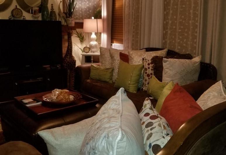 B&L Luxury Stays, Milwaukee, Departamento urbano, Sala de estar