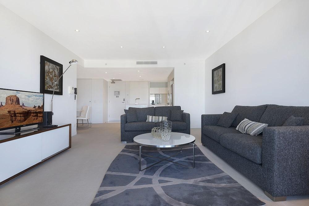 Apartamento, 1 Quarto, Vista Oceano - Área de Estar