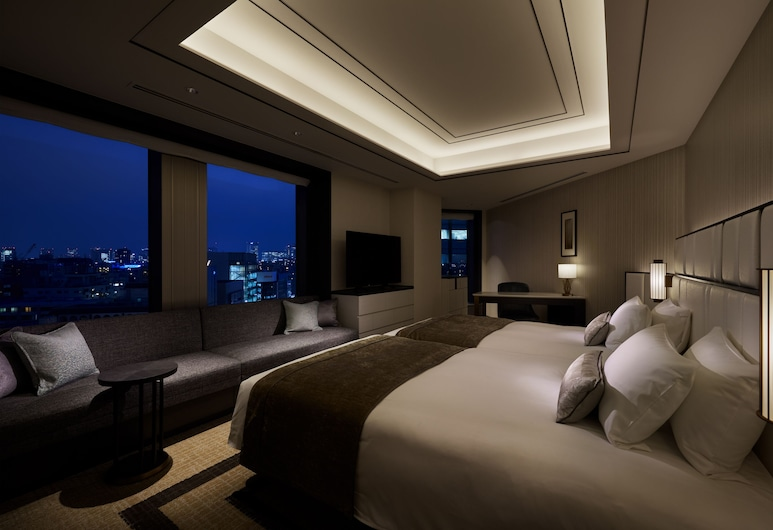 Hotel Trusty Premier Nihonbashi Hamacho, Tokyo, Deluxe Twin Room, Non Smoking, Guest Room View