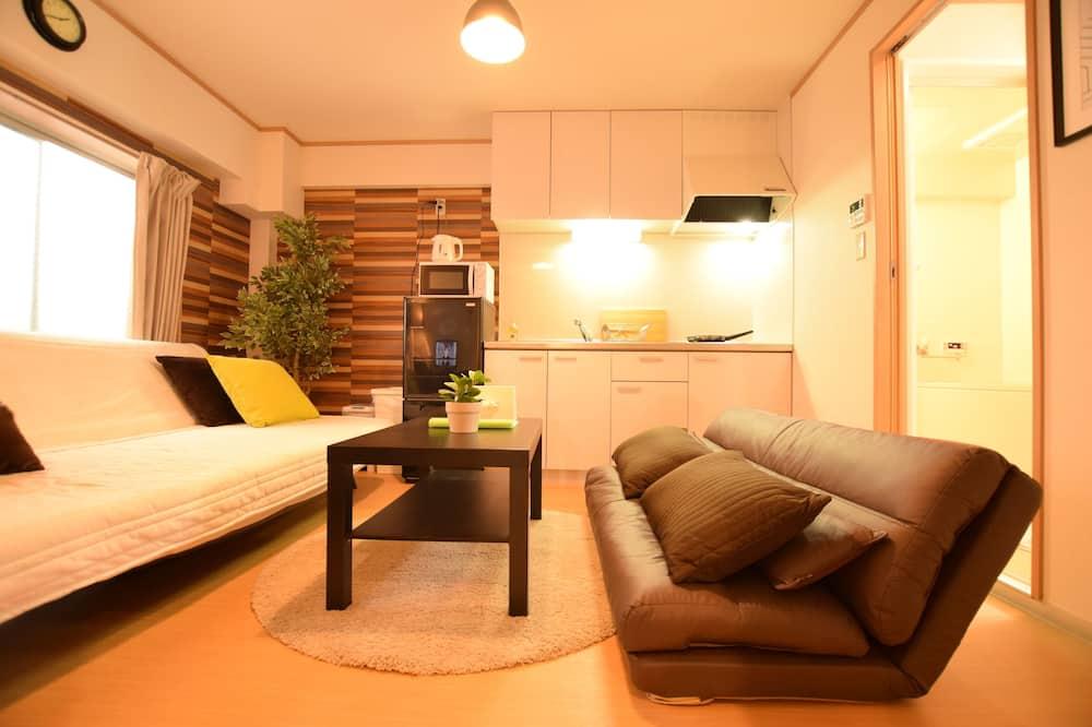 ห้องพัก (Yokoduna Hostel 603) - ห้องนั่งเล่น