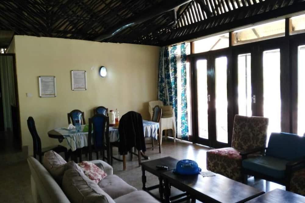 Family Cottage, Berbilang Katil, Non Smoking, Beach View - Ruang Tamu