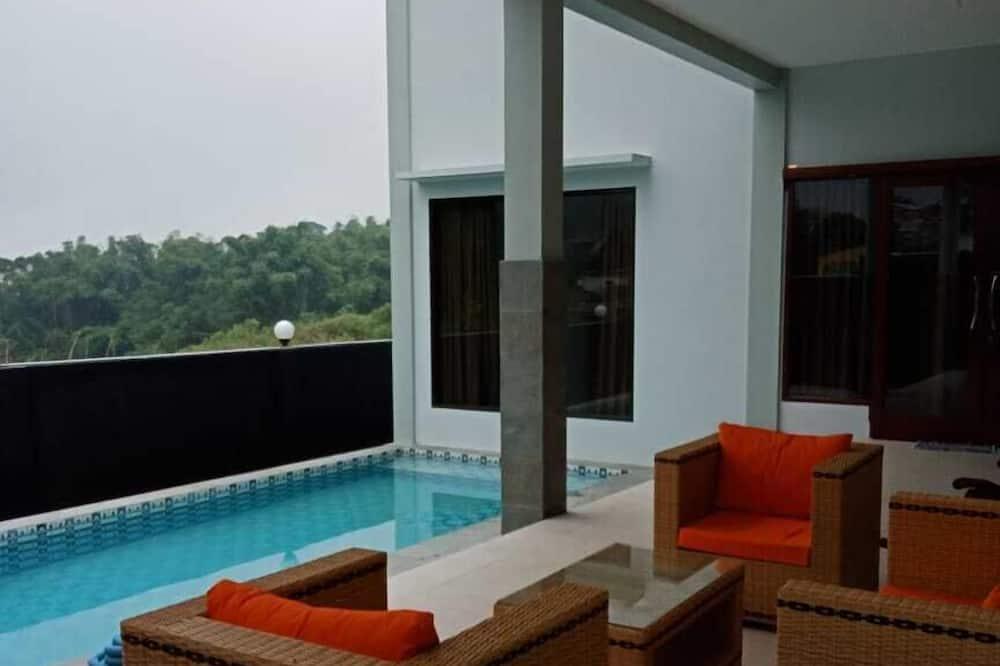 Вілла, 4 спальні, для некурців - Приватний басейн